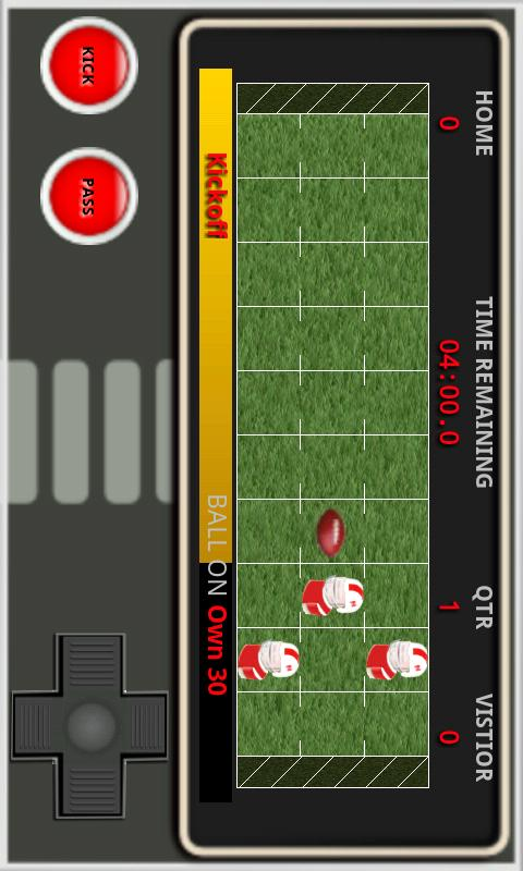 Handheld Football- screenshot
