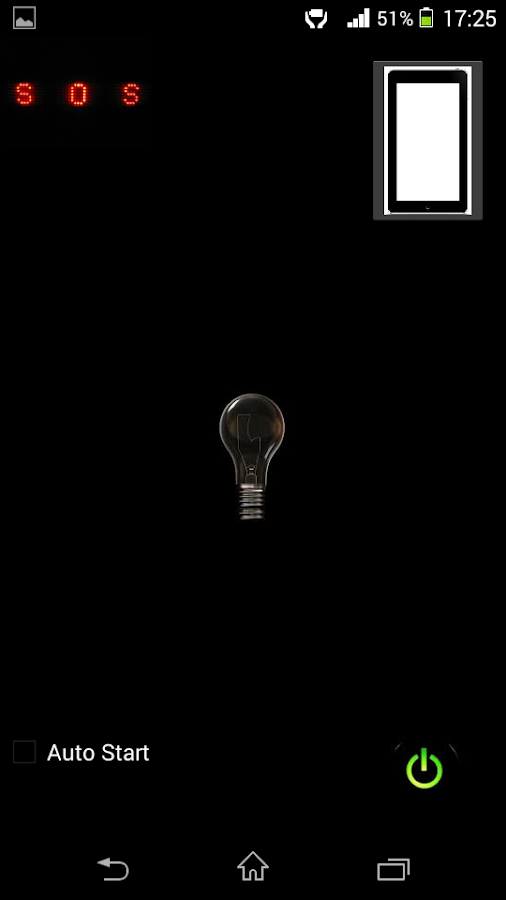 Flashlight LED HD Free- screenshot