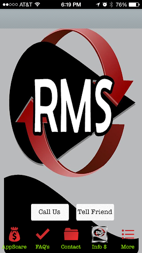 RMS Apps Store