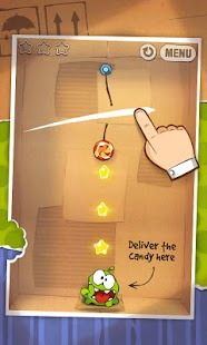 Cut the Rope GOLD Capture d'écran