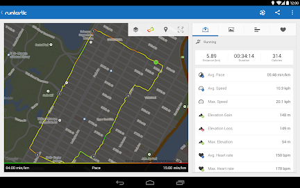 Runtastic Running PRO Screenshot 4