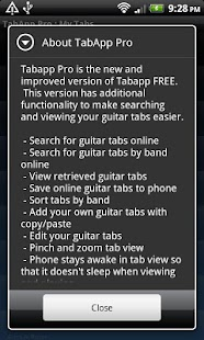 Guitar TabApp - PRO - screenshot thumbnail