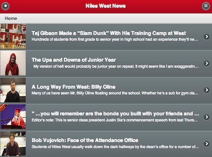 Niles West News