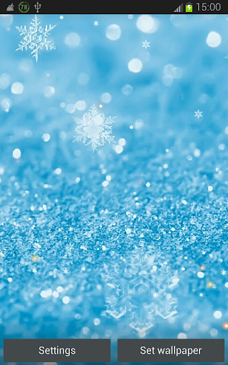 Snowing Pictures HD LWP