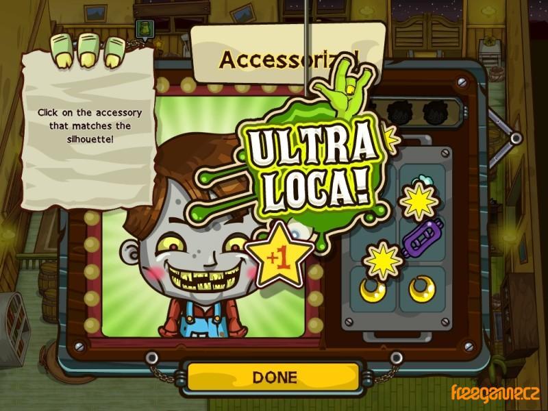 Grave Mania: Zombie Fever - screenshot