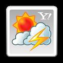 Yahoo!天気 for SH 雨雲や台風の接近がわかる気象レーダー搭載の天気予報アプリ icon