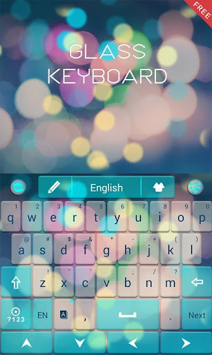 Free Z Glass GO Keyboard Theme  screenshots 6