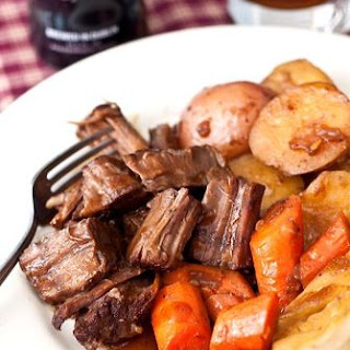 Pot Roast with Stout Gravy.