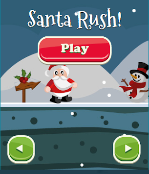 Santa Rush apk screenshot