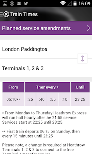 Heathrow Express- screenshot thumbnail