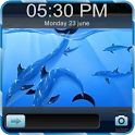 3D Fish Go Locker Theme icon