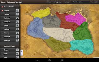 Screenshot of Map for Skyrim HD (USA)