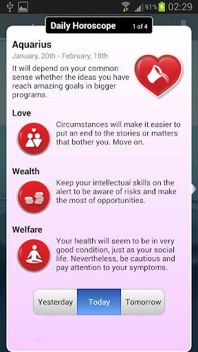 Daily Horoscope Valentine