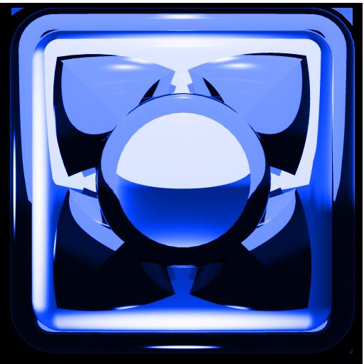 NEXT LAUNCHER THEME 藍色金屬 個人化 App LOGO-硬是要APP