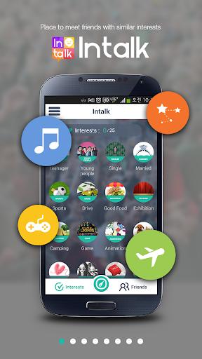 Intalk - Japan random Chat