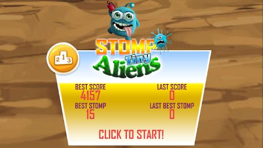 Stomp Tiny Aliens