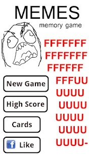 Rage comics memory - screenshot thumbnail