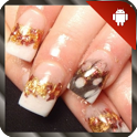 Nail Art Design Gold icon