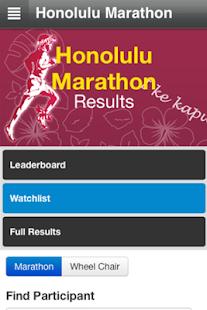 Honolulu Marathon- screenshot thumbnail