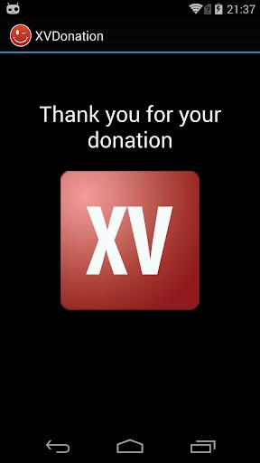 XV Donation