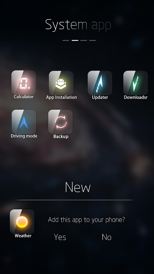 Alpha-I GO Launcher Theme - screenshot