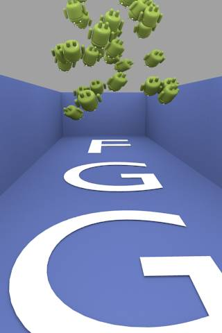FGG Droids Attack 3D - screenshot