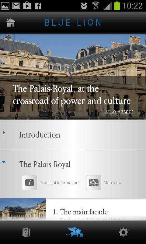 The Palais-Royal in Paris- screenshot