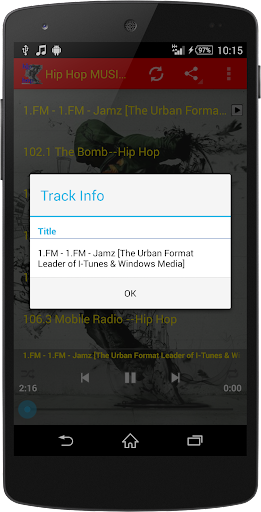 Hip Hop MUSIC Radio WorldWide  screenshots 12