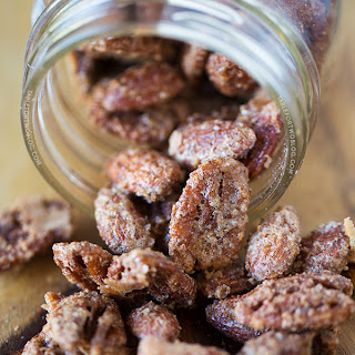 Maple Cinnamon Spiced Nuts
