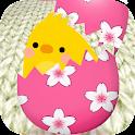 Pop'n Colegg - Puzzle & Chicks icon