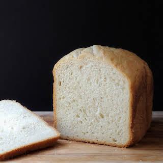 Vanilla Bread Machine Loaf.
