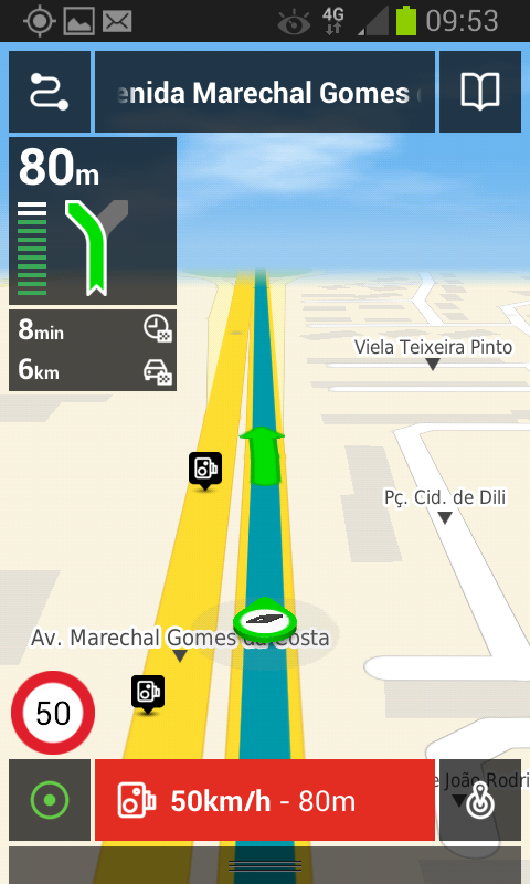 MEO Drive - screenshot