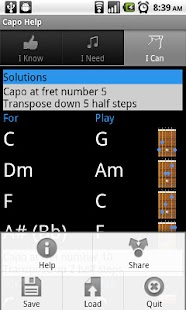 Capo Help - screenshot thumbnail