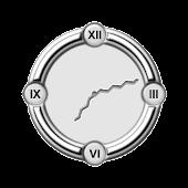 Metallic Rom Clock