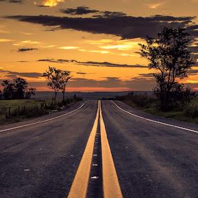 ... by Matheus Dalmazzo - Landscapes Sunsets & Sunrises ( itapetininga, cinestudio, hdr, sunset, road )