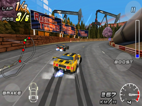 Raging Thunder 2 HD Screenshot