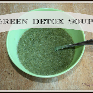 Green Detox Soup…a Perfect Way to Kick-Off the New Year! Recipe