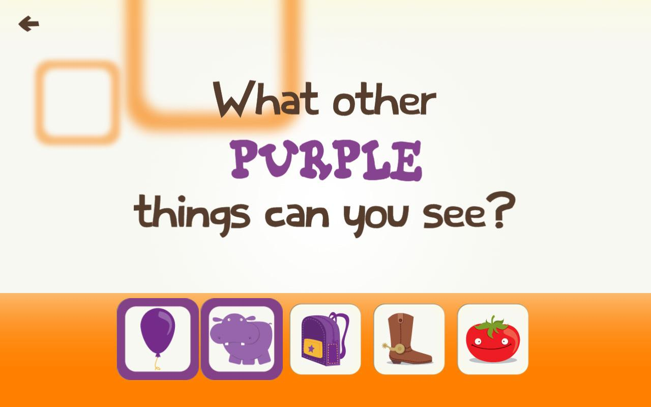 Toddler color learning games - Toddler Learning Games Ask Me Color Games For Kids Screenshot