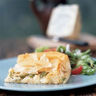 Cheese Pie with Peppers.