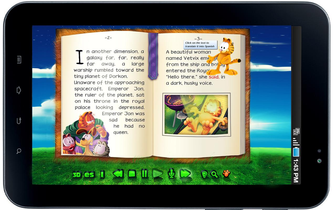Garfield's BooClips LITE- screenshot