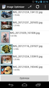 Image Optimizer Screenshot