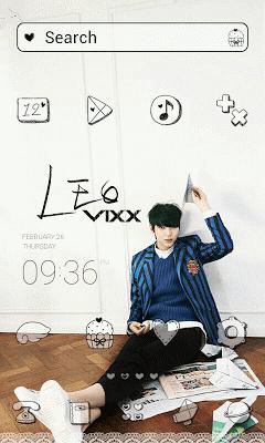 VIXX_BR_Leo LINELauncher theme - screenshot