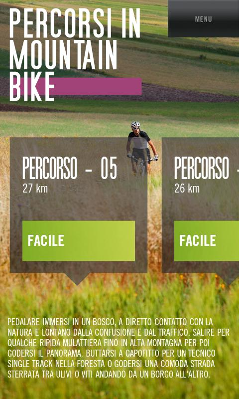 Bike in Umbria- screenshot