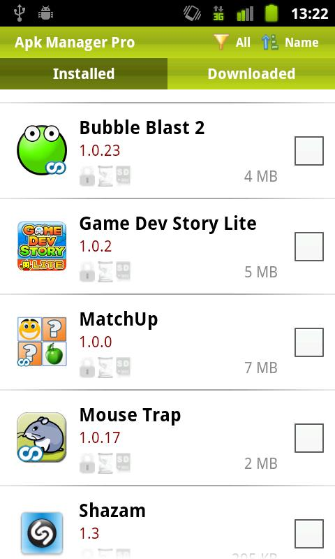 Apk Manager Plus - screenshot