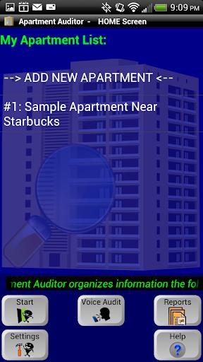 Apartment Auditor