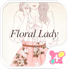 Spring Wallpaper-Floral Lady- icon