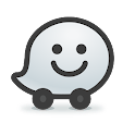Waze - GPS, amamephu, Traffic Izaziso Live Navigation icon