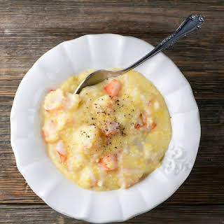 Chopped Shrimp and Grits.
