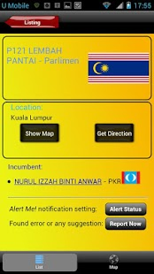 Undi PRU13 Malaysian Election - screenshot thumbnail