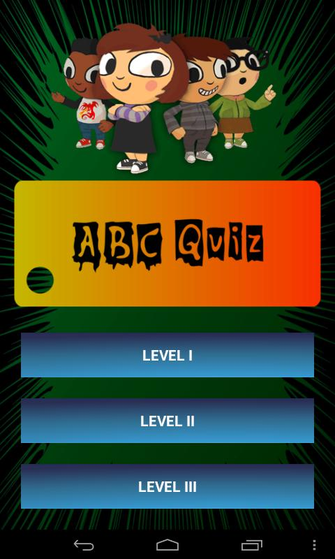 Kids ABC Alphabet Phonics Quiz - screenshot